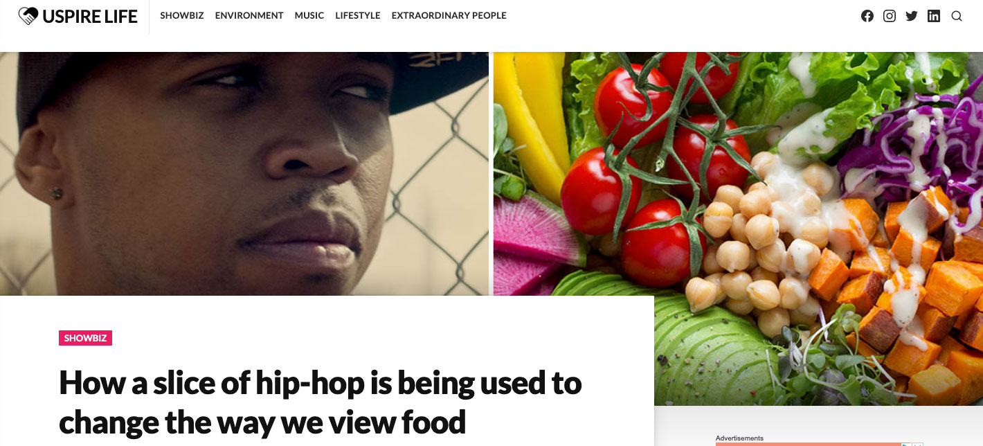 How a Slice of Hip-Hop is Being Used to Change the Way We View Food